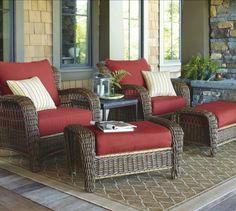 Find ideas for deck and patio furnishings here!