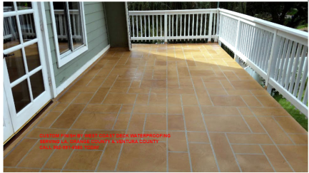 MAY'S FEATURED CONTRACTOR-WEST COAST DECK WATERPROOFING PARAMOUNT CA 562-991-6580