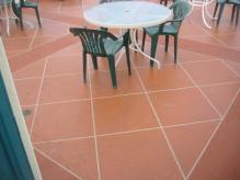 Tile pattern deck