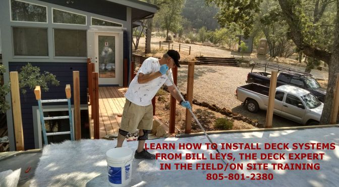 Get Trained On Your Job Site to Install Metal Lath Decking Systems By The Deck Expert!