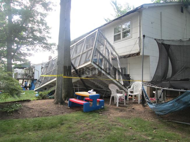 Get your deck inspected before an accident occurs! Broken bones, even death occurs when a deck collapses.